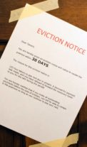 POSTING ARIZONA EVICTION NOTICE